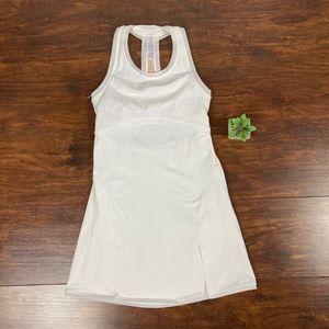 IVIVVA S/L Racerback Stretch Athleisure Mini Dress